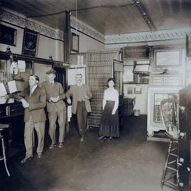 Updyke agency in 1910